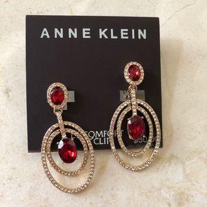 Anne Klein earrings.